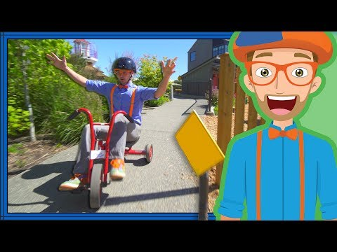 Blippi Playing at a Children&39;s Museum  Colors for Toddlers