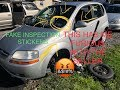 NEVER TRUST A CAR WITH BRAND NEW INSPECTION. HUGE SAFETY CONCERN!!!