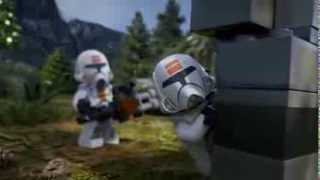 Corellian Defender - LEGO Star Wars - Episode 8 Part 2(A crash landing leads to an epic light saber battle between a Sith Warrior and a Jedi Knight! Awesome original mini movies taking place in the LEGO® STAR ..., 2013-10-09T13:05:56.000Z)