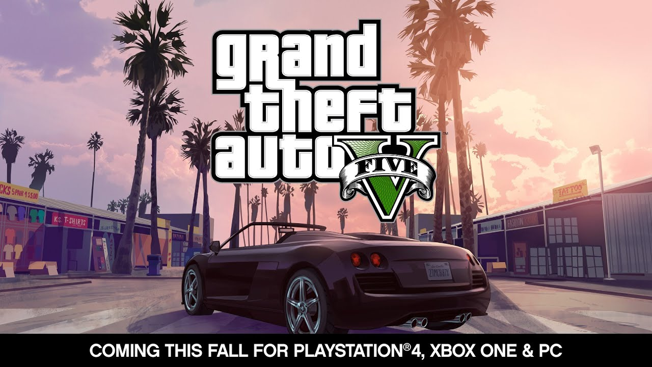 Grand Theft Auto V Playstation 4 Xbox One Pc Announcement Trailer Youtube
