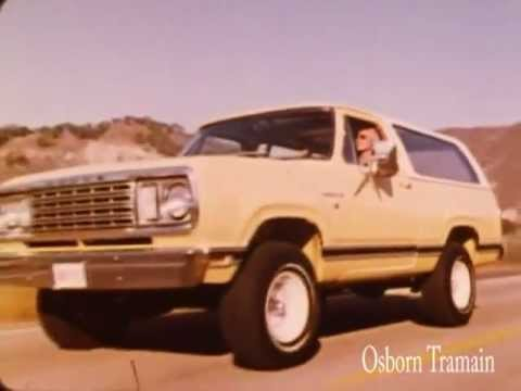 1977 Dodge Ramcharger Promotional Film Dodge Demo Screen