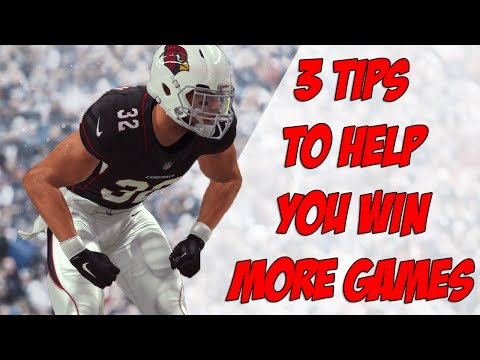 Madden 17 Tips | 3 Tips to Help You Win More Games