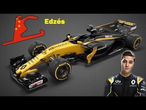 Világbajnok leszek! /F1 2017/ EDZÉS - KÍNA