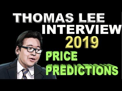 Tom Lee Explains: Future Trends & Catalysts | 2019 Price Predictions | BTC ETF