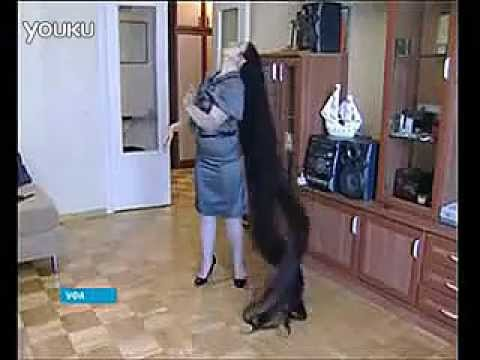 Extremely Long Hair Russian YouTube