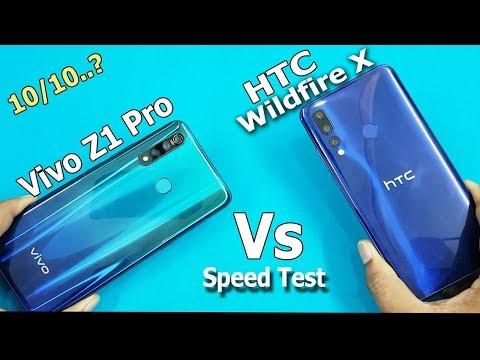 HTC Wildfire X Vs ViVO Z1 Pro Speed Test Comparison Antutu Benchmark Scores
