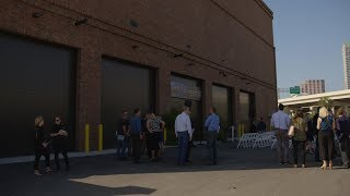 District Cooling Plant Ribbon Cutting