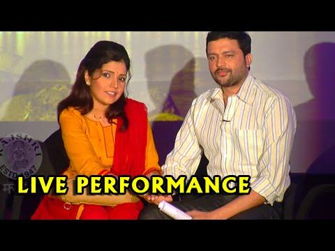 Double Seat | Entertaining Live Performance by Mukta Barve & Ankush Choudhary | Marathi Movie