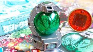 新作限定キュータマはクジャクだ!4月22日発売 キュウレンジャーとあそぼう超ラッキー DXクジャクキュータマ付属