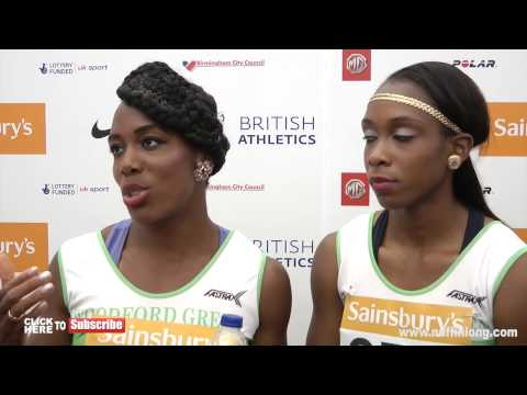 Tiffany Porter/Cindy Ofili talk winning and address being called plastic Brits