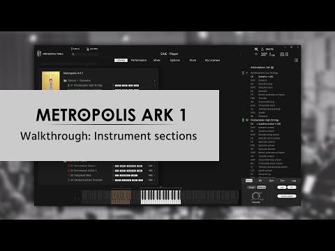 Metropolis Ark 1 Walkthrough: Instrument sections