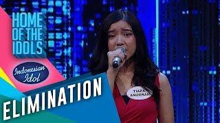 Para juri dibuat merinding dengan suara Tiara - ELIMINATION 2 - Indonesian Idol 2020