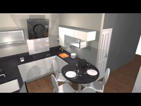 vid o simulation cuisine youtube. Black Bedroom Furniture Sets. Home Design Ideas