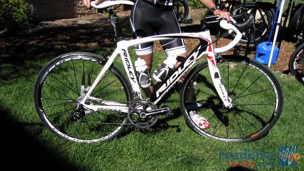 2013 Ridley Noah Rs Aero Road Bike Youtube