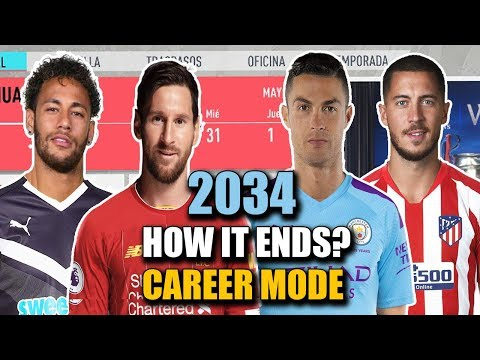 THE END OF CAREER MODE 2034 | FIFA 20 (All the Best Players and Regens)