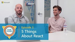 #FiveThings About React