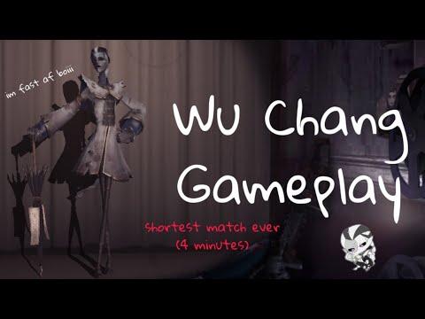 Shortest Match Ever?💀/ Wu Chang Gameplay🌂 / Identity V