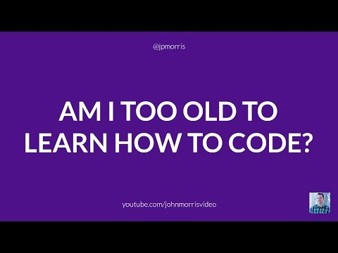 Too Old to Become an Expert In Web Development?
