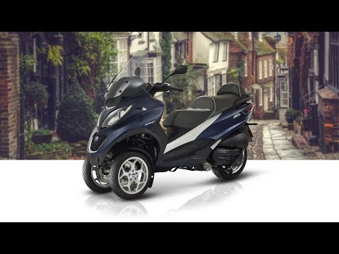 2018 Piaggio 3 Wheeler MP3 500 HPE Business Review
