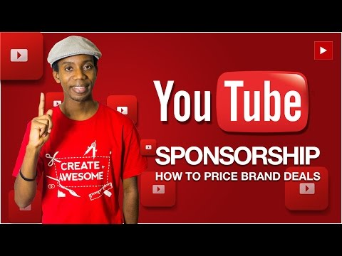 How to Price YouTube Sponsor Deals