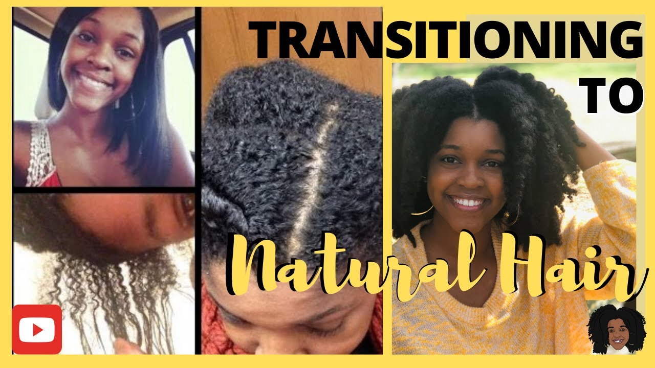 Transitioning to Natural My Hair Journey