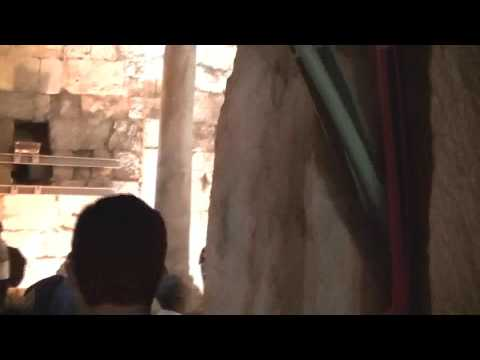Cochin Jewish Community in Israel - Jerusalem Unification 50th Anniversary: Western Wall Tunnel 4