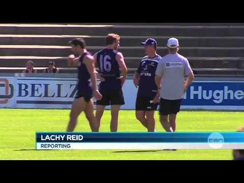 Dockers News  April 10, 2012 - Mundy's return