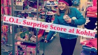 NEW L.O.L. Surprise! Dolls Score at Kohls & Unboxing! Hunting for Glitterati!  #CollectLOL