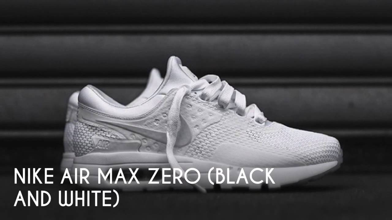 ... sale nike air max zero black and white peace x9 a64c9 4be4d 1c057ea45