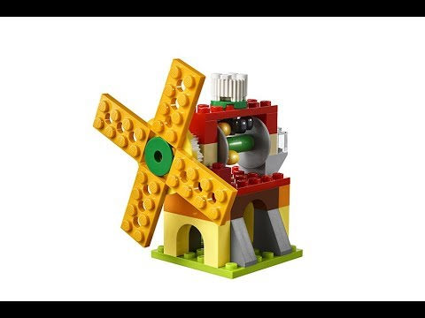 how to make a windmill out of lego