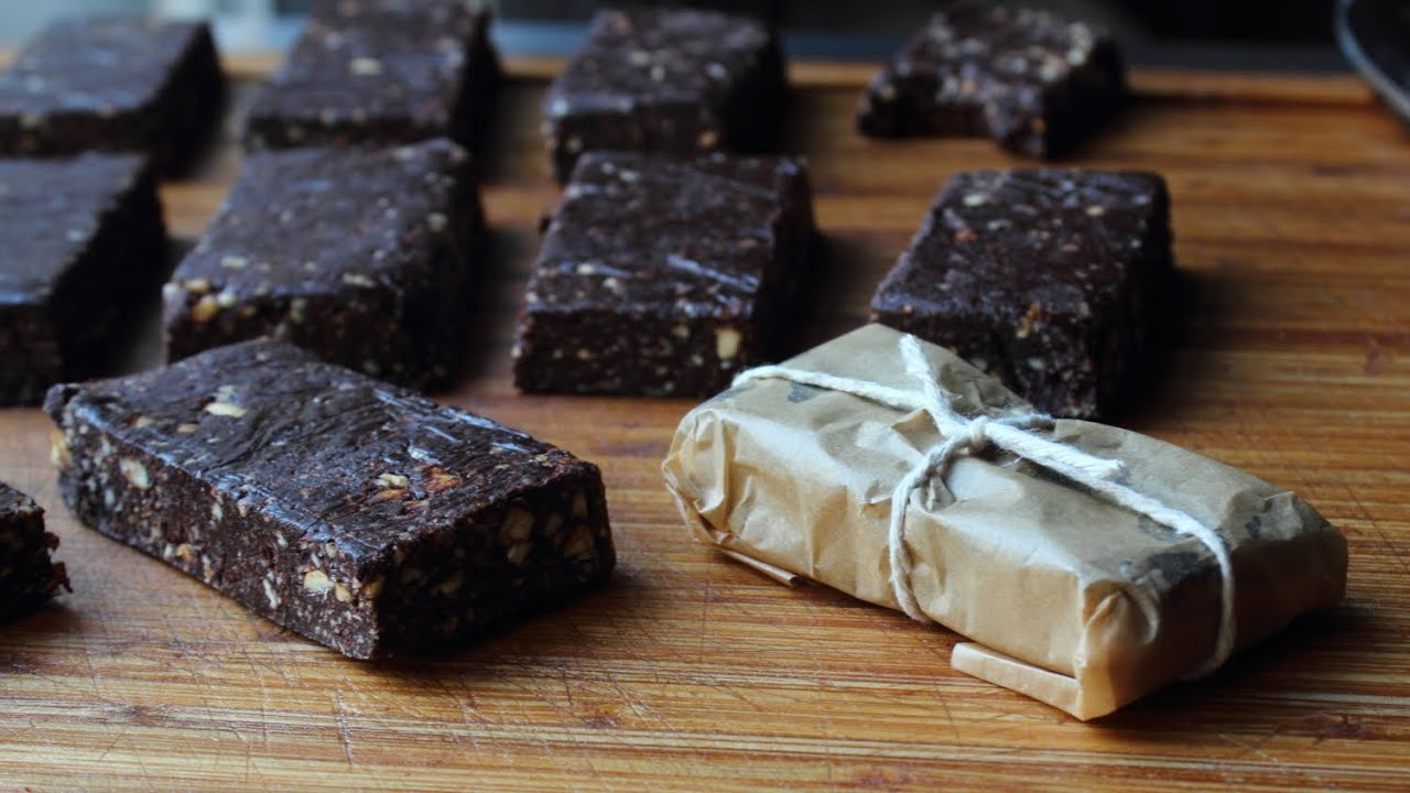 Chocolate Energy Bars How To Make Fruit Nut Breakfast Bar Recipe