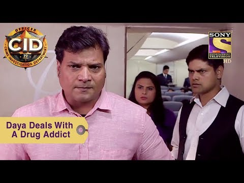 Your Favorite Character  Daya Deals With A Drug Addict  CID