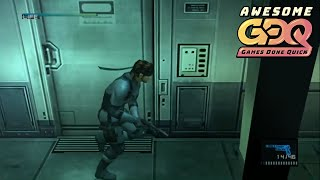 Metal Gear Solid 2: Sons of Liberty by Tyler2022 in 1:26:01 - AGDQ2019