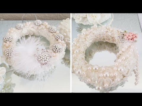 CHRISTMAS ORNAMENTS | SO FANCY AND ELEGANT | QUICK AND EASY DIY 2018