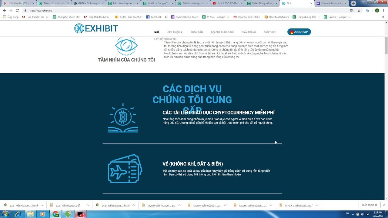 Exhibit ICO REVIEW - Thông tin chung