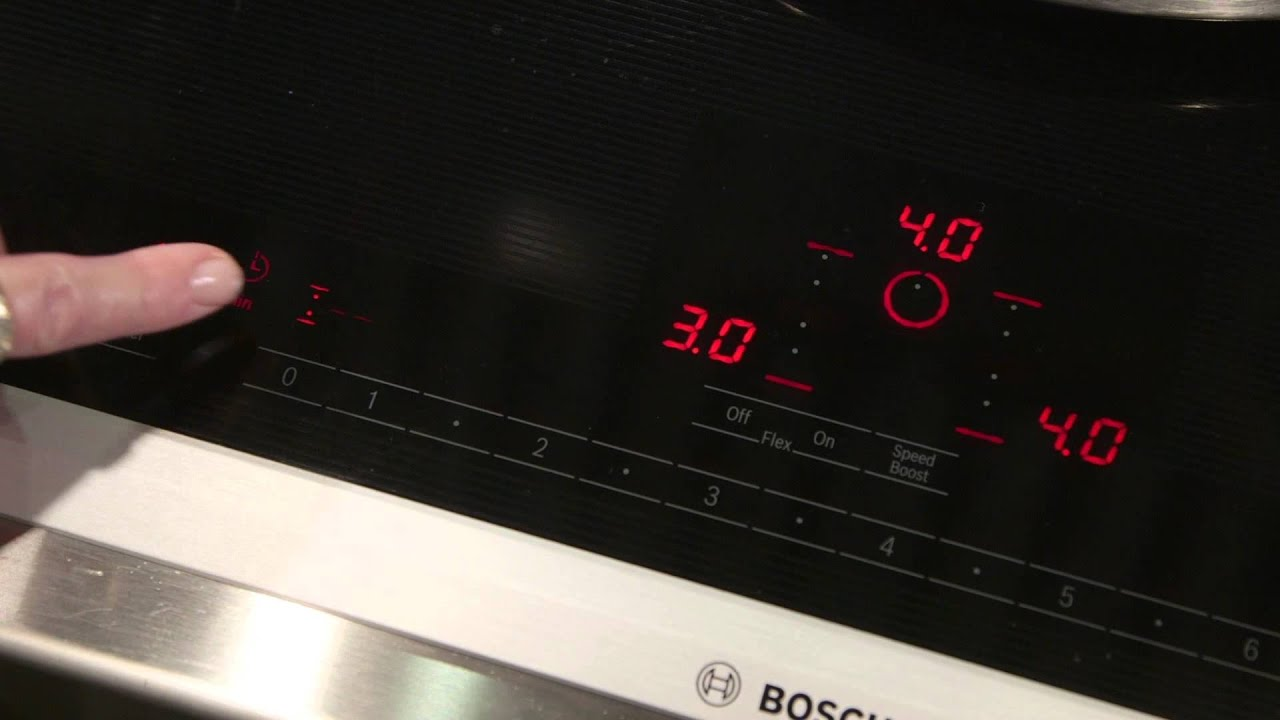 Bosch Flex Induction Cooktop   YouTube