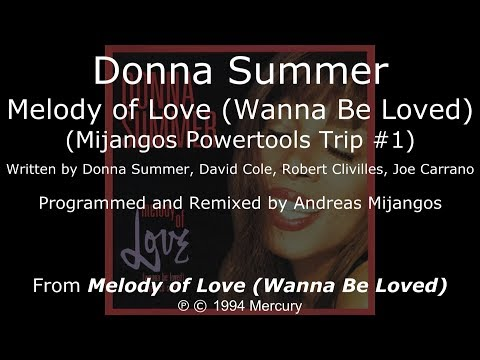 Donna Summer - Melody of Love (Mijangos Powertools Trip #1) LYRICS - SHM