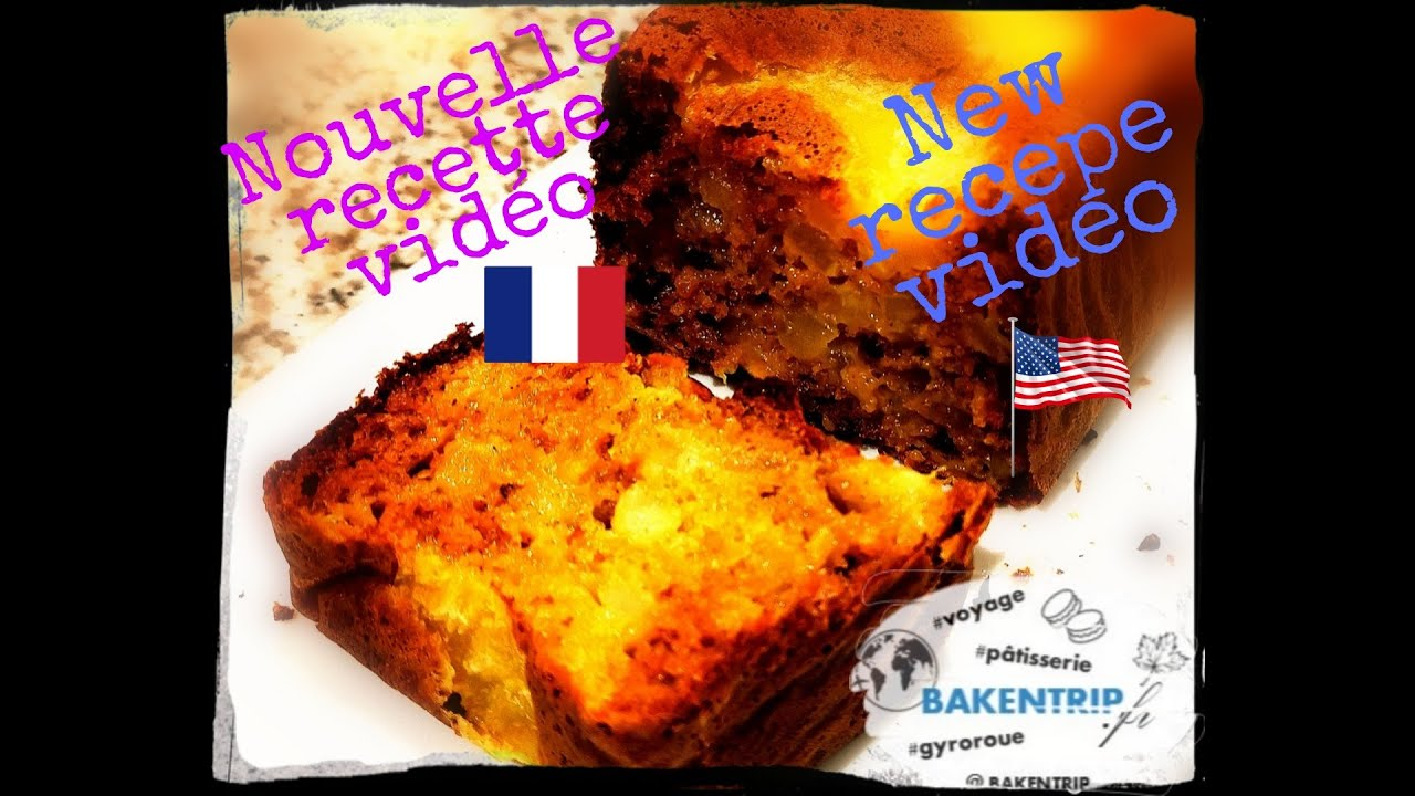 Cake aux pommes healthy