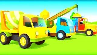 Canción para niños. Vehículos de servicio. Dibujos animados de coches.