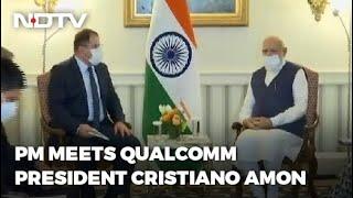 PM Modi In America: 5G, Public WiFi On Agenda As PM Modi Meets Qualcomm Chief In US