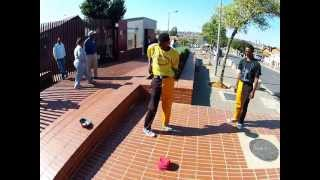 amazing flexible guys soweto street performers in south africa 2013