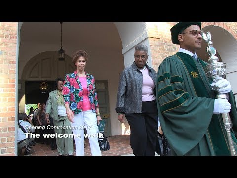 Opening Convocation 2017: The welcome walk