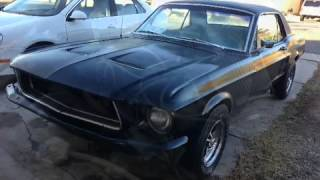 Exhaust Sound - 1967 Ford Mustang Coupe 289 V8 - For Sale