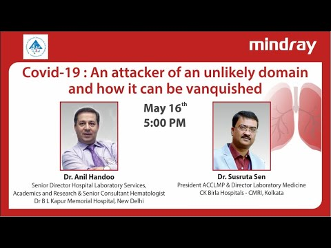 Covid-19: An Attacker Of An Unlikely Domain And How It Can Be Vanquished | Webinar | ACCLMP