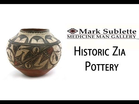 Native American Pottery: How To Identify And Price Early Historic Zia And Acoma Pottery