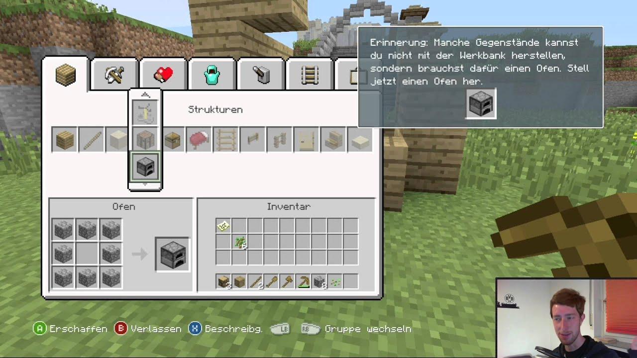 Minecraft Xbox Tutorial Haus Bauen Craften Update - Minecraft haus bauen xbox 360