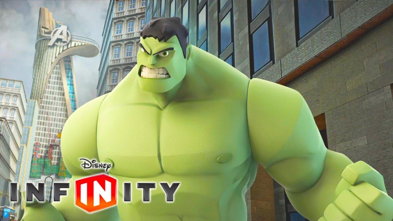 Hulk Jeux Video Super Heros Marvel En Francais Disney Infinity