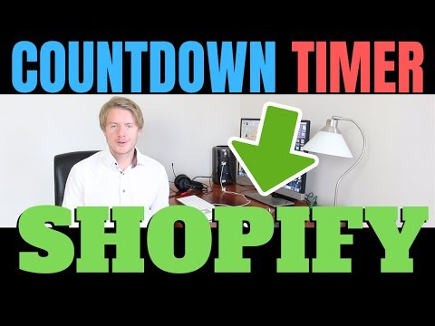 How To Add A Countdown Timer On Shopify With Ultimate Sales Boost 2019
