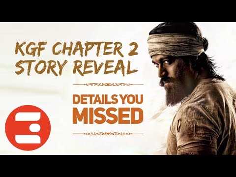 KGF CHAPTER 2 REVEAL | ENG SUBS | KANNADA | HIDDEN DETAILS YOU MISSED | FAN THEORY Mp3