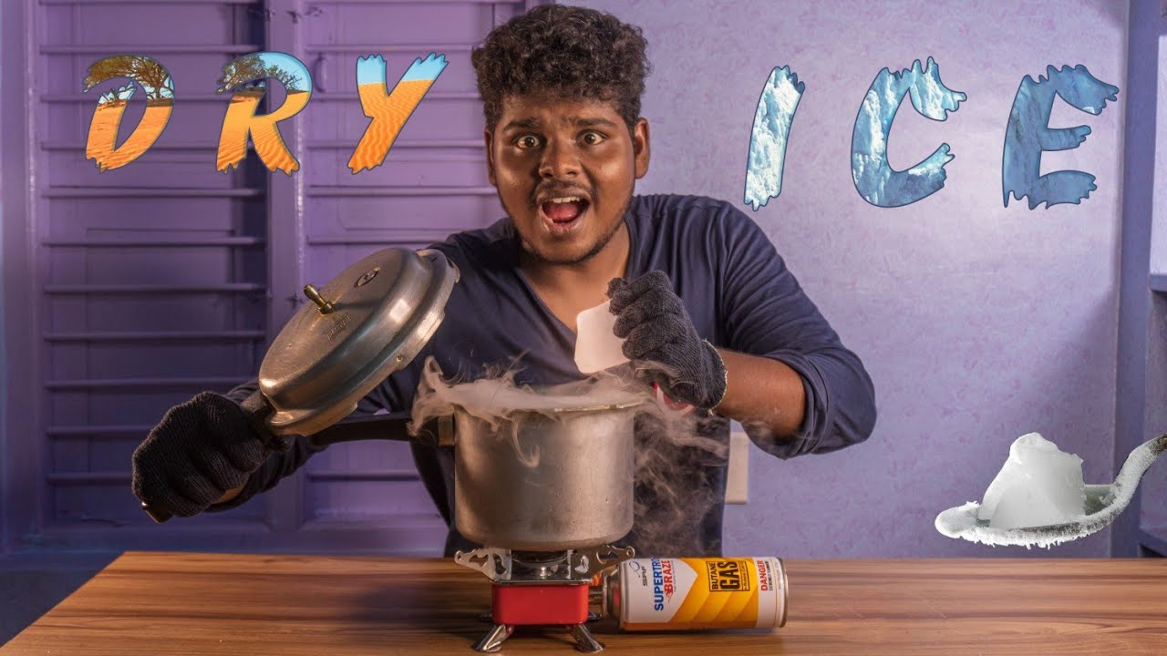 Dry Ice Vs cooker🤯Craziest experiment with Dry ice🤔 OutofFocus